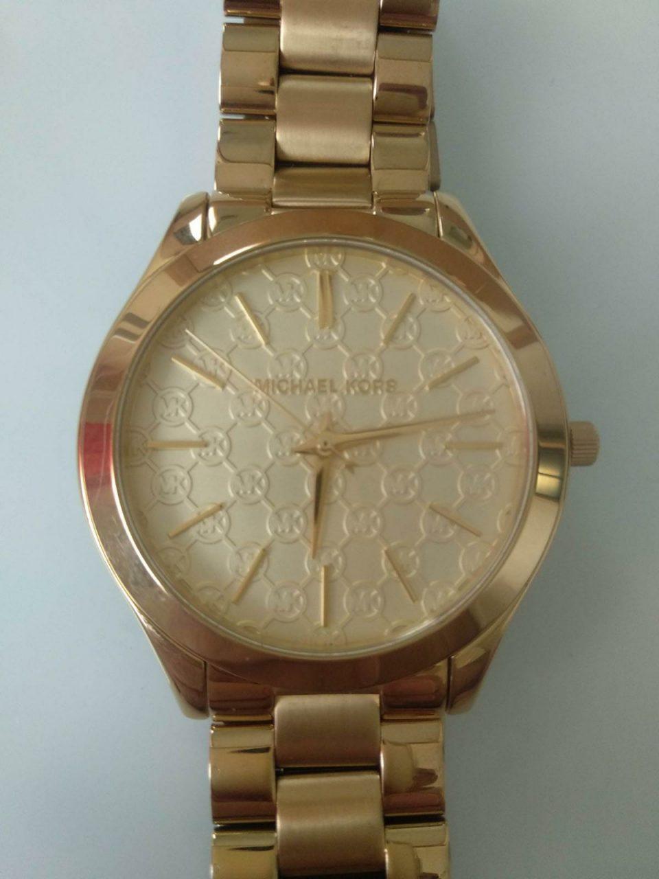 Orologio bisex Michael Kors oro