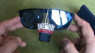 Occhiale da sole Modello con lenti a specchio MLL 977 di Milano Living Luxury