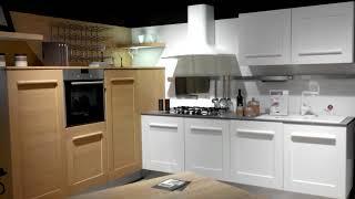 Cucina Gallery di Lube versione bicolore