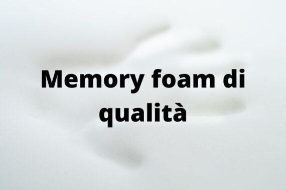 Acquistare memory foam di qualità