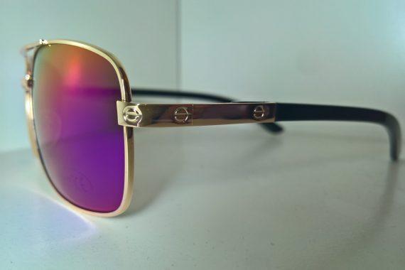 Gafas de sol vintage oro