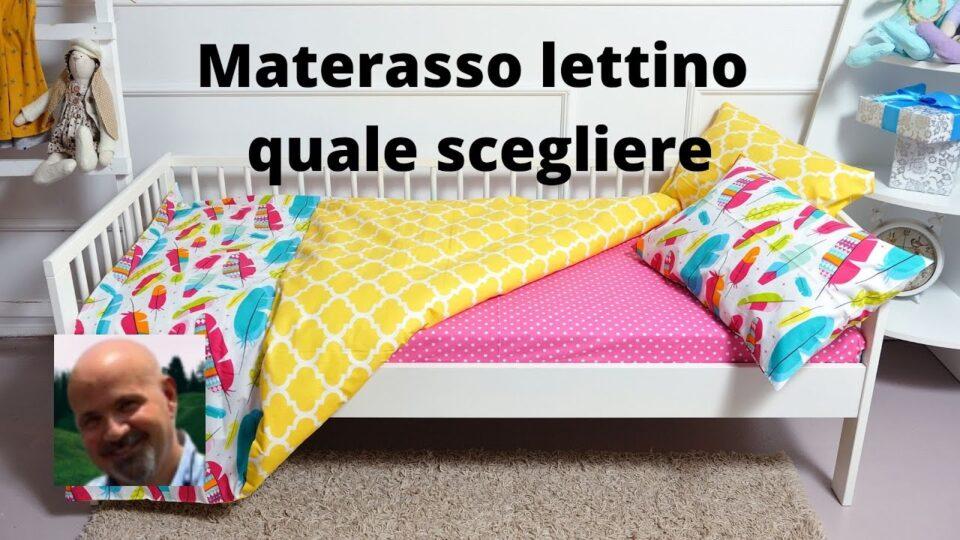 Foto lettino con titolo: Quale materasso scegliere per lettino